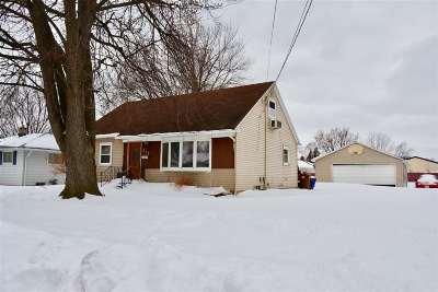 Menasha Single Family Home Active-Offer No Bump: 828 Arthur