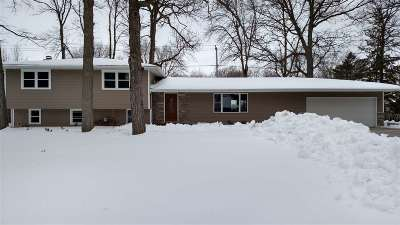 Menasha Single Family Home Active-Offer No Bump: 1344 Mayer