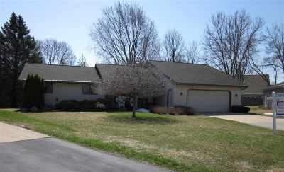 Appleton Single Family Home Active-No Offer: 706 S Wild Rose