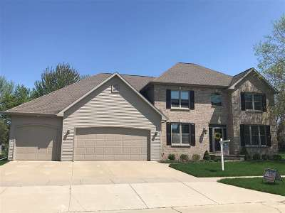 Appleton Single Family Home Active-No Offer: 4908 N Silentwind