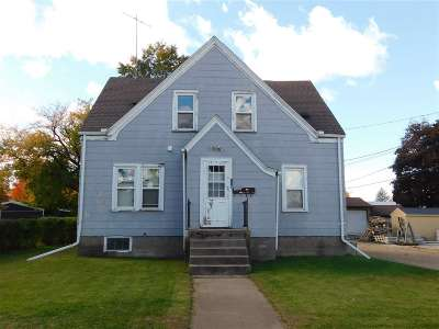 Shawano County Multi Family Home Active-No Offer: 115 S Hamlin