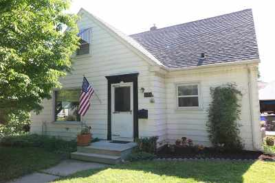 Appleton Single Family Home Active-No Offer: 1924 S Jackson