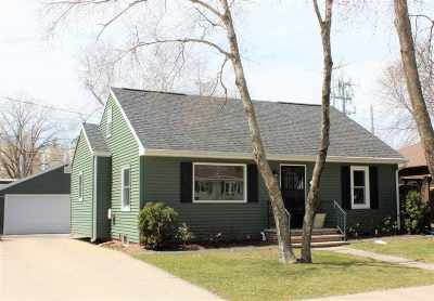 Appleton WI Single Family Home Active-No Offer: $154,800
