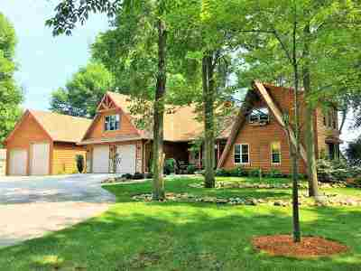 Oconto County Single Family Home Active-Offer W/Bump: 2772 Kunzer Beach