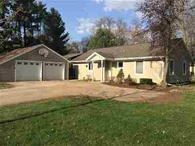 Oconto Falls WI Single Family Home Active-Offer No Bump: $169,900