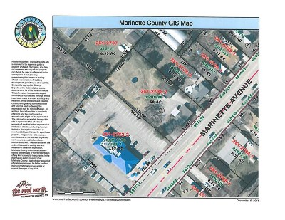 Marinette County Residential Lots & Land Active-No Offer: 1215 Marinette