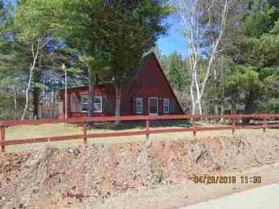 Suring Single Family Home Active-No Offer: 10377 S Branch