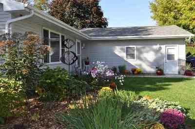 Menasha Single Family Home Active-Offer No Bump: 601 Karen