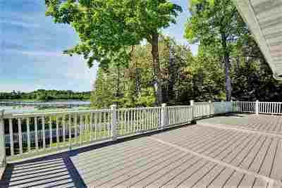 Shawano County Single Family Home Active-No Offer: N6321 Pensaukee Lake