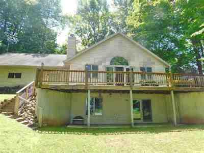 Oconto County Single Family Home Active-No Offer: 12539 S White Potato Lake