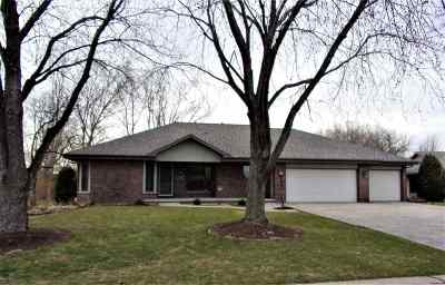 Neenah Single Family Home Active-Offer No Bump: 968 Mill Pond