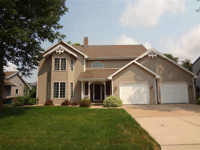 Appleton Single Family Home Active-No Offer: 2308 W Twin Willows
