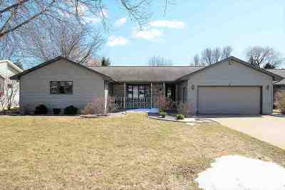 Appleton WI Single Family Home Active-No Offer: $205,000