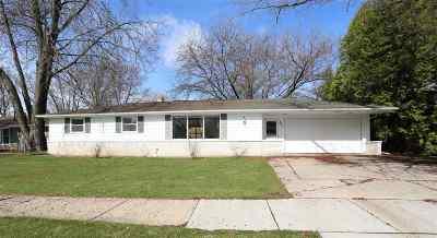 Kaukauna Single Family Home Active-Offer No Bump: 307 Fillmore