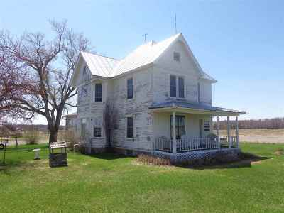 Shawano Single Family Home Active-Offer No Bump: N3456 Hwy K