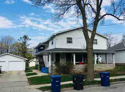 Little Chute Multi Family Home Active-No Offer: 305 Franklin