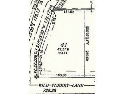 Shiocton Residential Lots & Land Active-No Offer: Wild Turkey