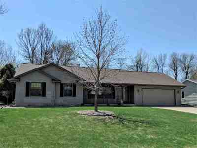 Menasha Single Family Home Active-Offer No Bump: 1433 W Alcan