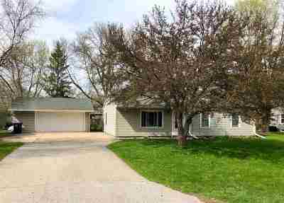 Neenah Single Family Home Active-Offer No Bump: 1272 Glenview