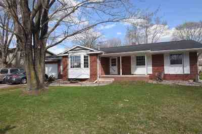 Shawano Single Family Home Active-No Offer: 346 Fairview