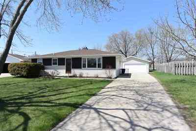 Menasha Single Family Home Active-No Offer: 900 London