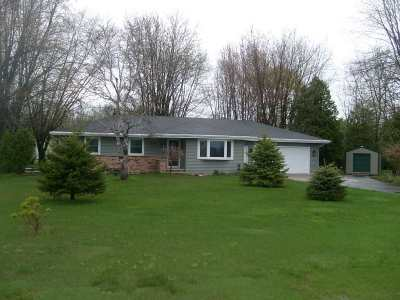Menasha Single Family Home Active-No Offer: W5360 Hwy 114