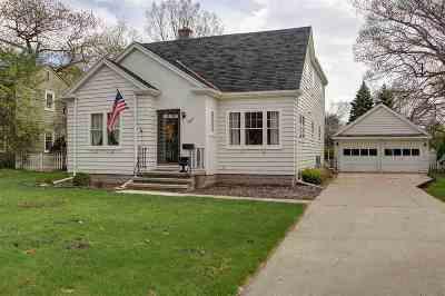 Neenah Single Family Home Active-Offer No Bump-Show: 827 E Cecil