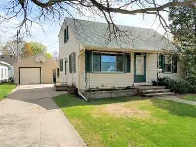 Neenah Single Family Home Active-Offer No Bump: 128 State