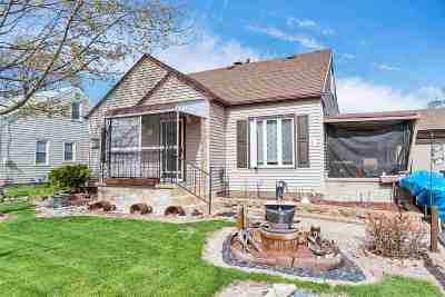 Menasha Single Family Home Active-No Offer: 747 London
