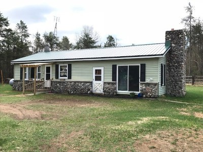 Single Family Home Active-No Offer: N6358 55th