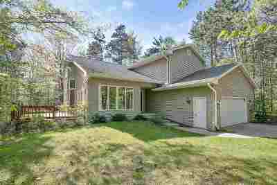 Sobieski Single Family Home Active-No Offer: 261 Northwood