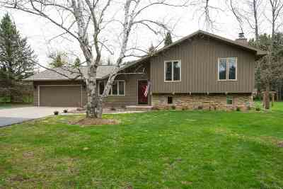 New London WI Single Family Home Active-Offer No Bump: $184,900