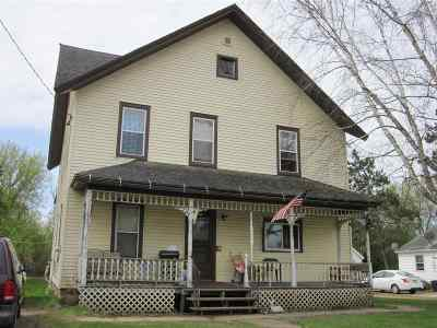 Shawano County Multi Family Home Active-No Offer: W13133 Hwy D