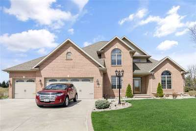 Appleton Single Family Home Active-No Offer: W2554 Fontana