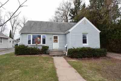 Oshkosh Single Family Home Active-Offer No Bump: 1409 W Murdock