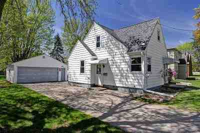 Appleton Single Family Home Active-Offer No Bump: 627 W Parkway