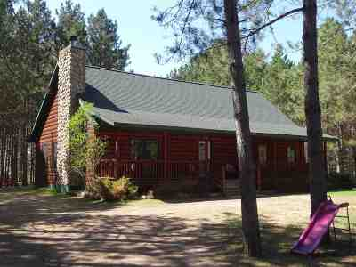 Single Family Home Active-No Offer: N9469 Deer Lake