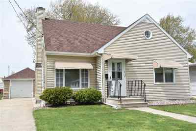 Menasha Single Family Home Active-No Offer: 612 School