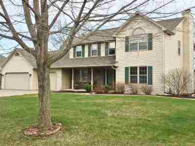 Green Bay Single Family Home Active-No Offer: 3107 Mercedes