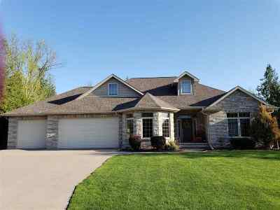 Appleton Single Family Home Active-No Offer: 5479 Serenity