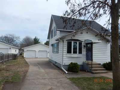 Shawano Single Family Home Active-No Offer: 940 S Evergreen