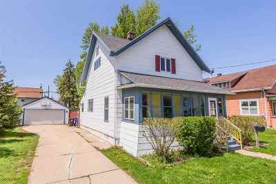 Appleton Single Family Home Active-Offer No Bump: 123 S Douglas