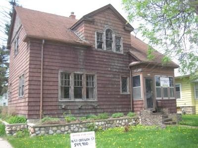 Oshkosh Single Family Home Active-No Offer: 1657 Oregon