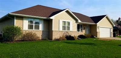 Green Bay Single Family Home Active-No Offer: 926 Channel Tunnel