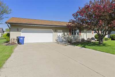 Menasha Single Family Home Active-No Offer: 1203 Goss