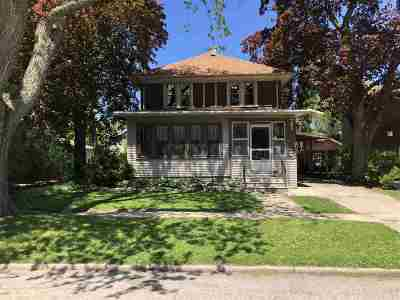 Appleton Single Family Home Active-No Offer: 624 W Spring St