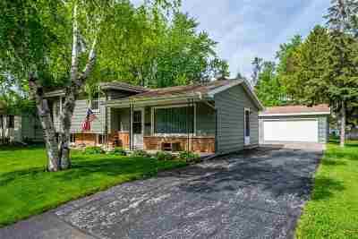 Oshkosh Single Family Home Active-No Offer: 2319 N Main
