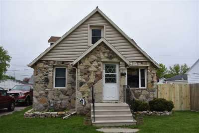 Green Bay Single Family Home Active-No Offer: 1729 10th