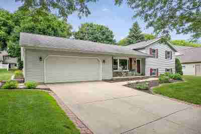 Green Bay Single Family Home Active-No Offer: 1618 King Of Arms