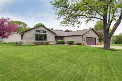 Appleton WI Single Family Home Active-No Offer: $250,000